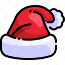 winter, hat, claus, santa hat, santa, fashion, christmas icon