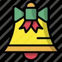 jingle, bell, christmas, xmas, decoration, celebration icon