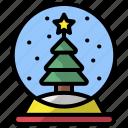 snow, globe, christmas, xmas, decoration, snowglobe, winter