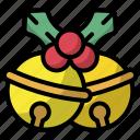 jingle, bells, christmas, xmas, decoration, celebration icon