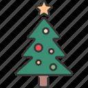 celebration, christmas, decoration, festive, holiday, tree, winter icon