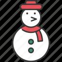 celebration, christmas, decoration, festive, holiday, snowman, winter
