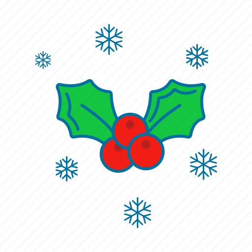 celebration, christmas, decoration, holiday, holidays, mistletoe icon