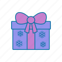 box, christmas, gift, holiday, holidays, present icon icon
