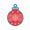 bauble, celebration, christmas, christmas tree, decoration icon icon