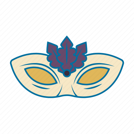 carnival, christmas, costume, mask, wear icon