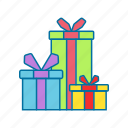 box, christmas, gift, presents icon