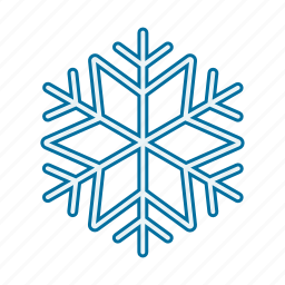 christmas, cold, snow, winter icon