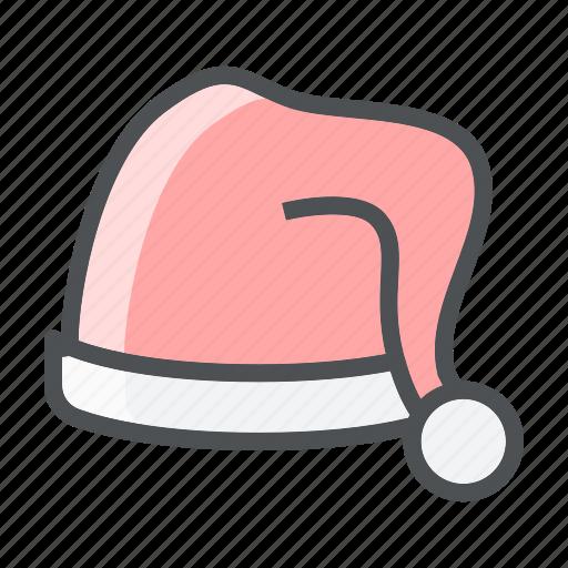 christmas, claus, hat, santa icon