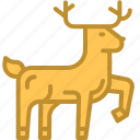 animal, christmas, deer, reindeer