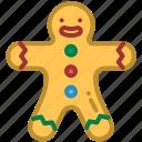 christmas, gingerbread, gingerbread man, ornament