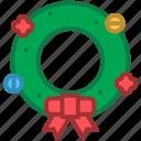 christmas, decoration, ornament, wreath