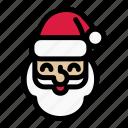 christmas, holiday, merry, santa, santa claus, santa hat, xmas icon
