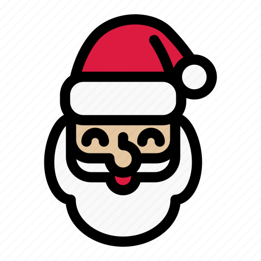 christmas, holiday, merry, santa, santa claus, santa hat, xmas icon