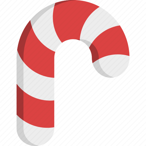 candy, candy cane, cane, christmas, food, lollipop, sweet icon