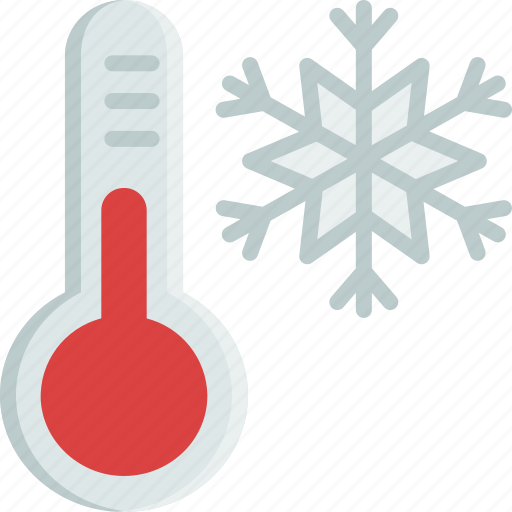christmas, cold, snow, snowflake, temperature, thermometer, winter icon