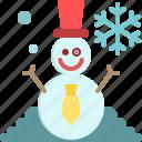 christmas, decoration, snow, snowflake, snowman, winter, xmas