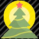 christmas, decoration, holiday, pine, tree, winter, xmas icon