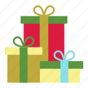 christmas, christmas gifts, gift boxes, gifts, holiday, presents, xmas icon
