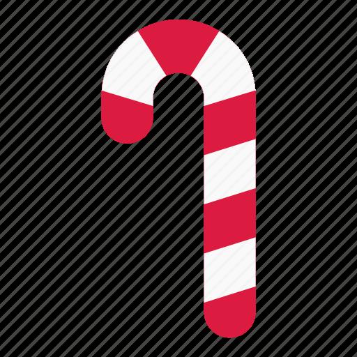 candy, candycane, cane, christmas, holiday, sweet, xmas icon