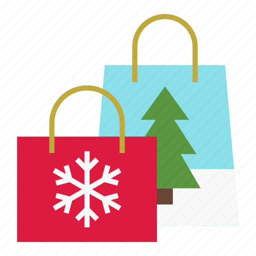 bags, christmas, gifts, holiday, merry, shopping bags, xmas icon