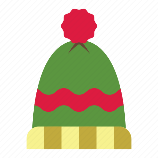 christmas, clothes, hat, holiday, winter, winter hat, xmas icon