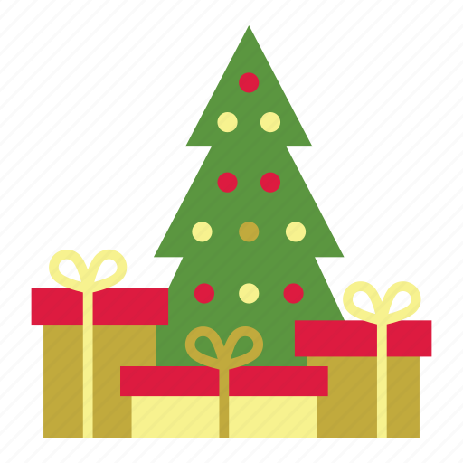 Christmas Tree Icons.Christmas Flat By Octo Pocto