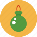 christmas, christmas ball, decoration, ornament icon