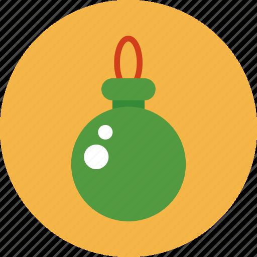 christmas, christmas ball, decoration, ornament icon