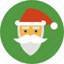 christmas, holiday, santa claus, winter icon