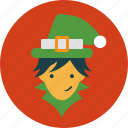christmas, elf, fairy, holiday icon