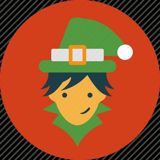 christmas, elf, fairy, holiday icon