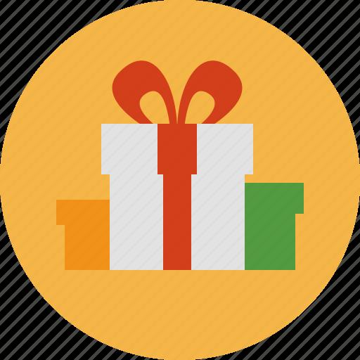 christmas, gift, holiday, presents icon