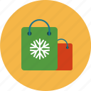 christmas, package, present, shopping icon
