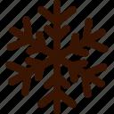 autumn, christmas, cold, snowflake, winter icon