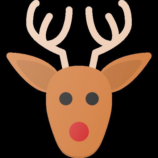 celebrate, christmass, deer, holidays, rudolf icon