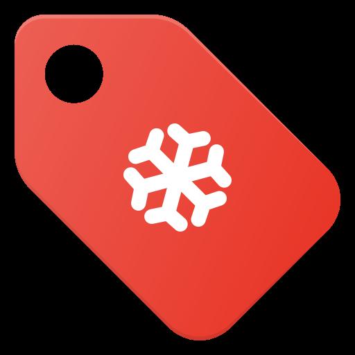 celebrate, christmass, holidays, price, tag, xmas icon