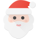 celebrate, christmass, claus, hat, holidays, santa icon