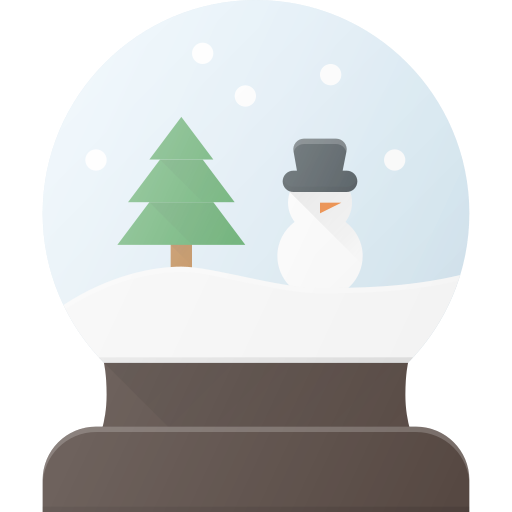 celebrate, christmass, holidays, snowbulb icon