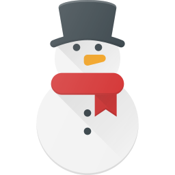 celebrate, christmass, holidays, snowman icon