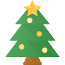 celebrate, christmass, holidays, pine, tree icon