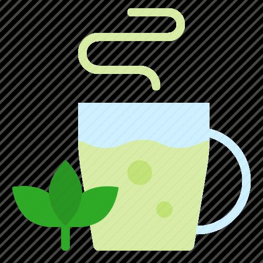 beverage, christmas, drinks, gastronomy, green tea, tea icon