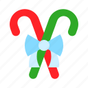 candy cane, christmas, food, sweets, xmas icon