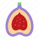 christmas, fig, food, fruit, xmas icon