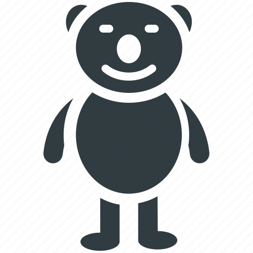 bear, children toys, plush toy, teddy, teddy bear icon