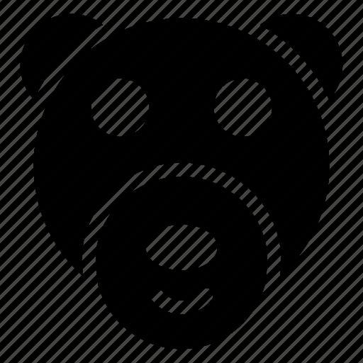 animal, dog, panda, pet icon