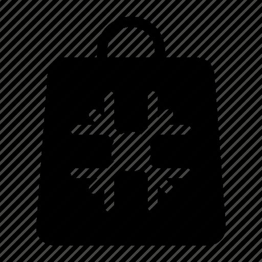 bag, portfolio, purse, shopper icon