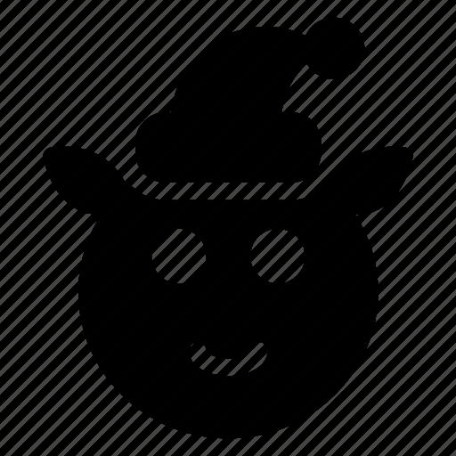 animal, clown, halloween, joker icon