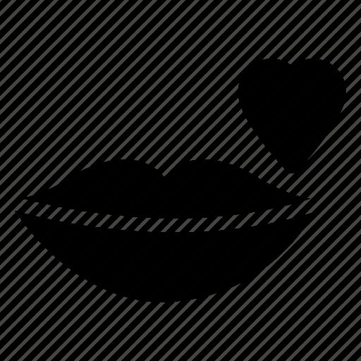 bodypart, kiss, lips, mouth icon