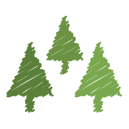 christmas, decoration, holiday, ornaments, scribble, tree, xmas icon